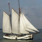 Segelschiff Seebestattung IJsselmeer Enkhuizen