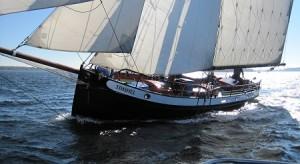 Segelschiff Seebestattung Zeeland 1